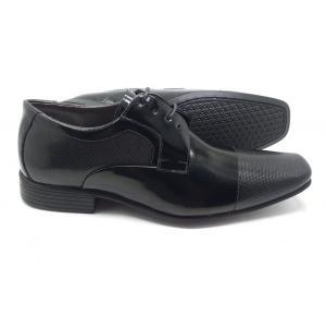 Sapato social  preto em couro  Classic Men's Club
