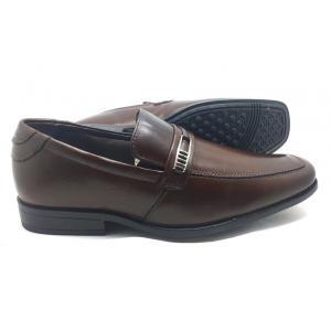 Sapato social marrom em couro Classic Men's Club