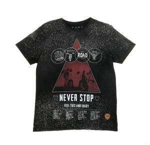 Camiseta  FORS PRETA/MOTO