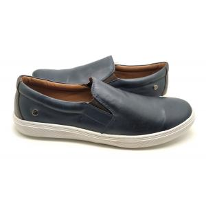 Sapatênis Slip On Couro Dom Shoes