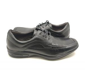 Sapato Social Ortopédico Preto Dom Shoes