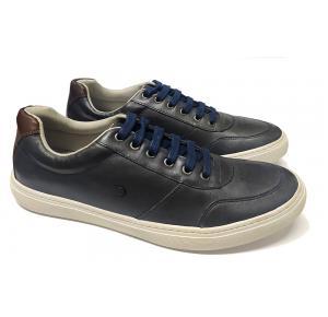 Sapatênis Dom Shoes de Couro Azul