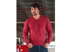 Camisa OGOCHI Tricot Vermelha