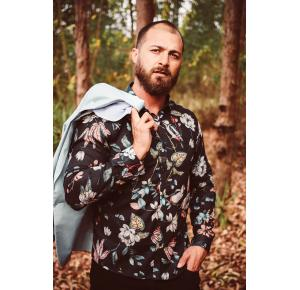 Camisa Docthos Floral