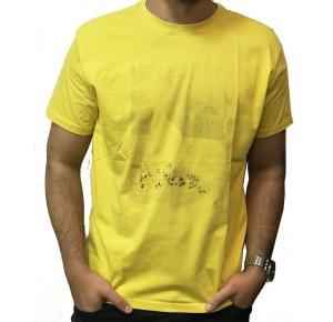 Camiseta RESERVA amarelo sol praia de copacabana