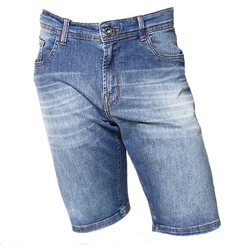Bermuda KING&JOE jeans claro