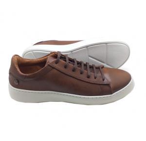 Sapatênis Dom Shoes em Couro Marrom