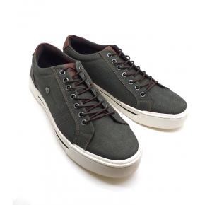 Sapatênis Verde Cadarço Elástico Dom Shoes