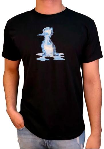 Camiseta Reserva Estampada Pica Pau Gelo