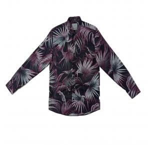 Camisa FORS FLORAL SLIM