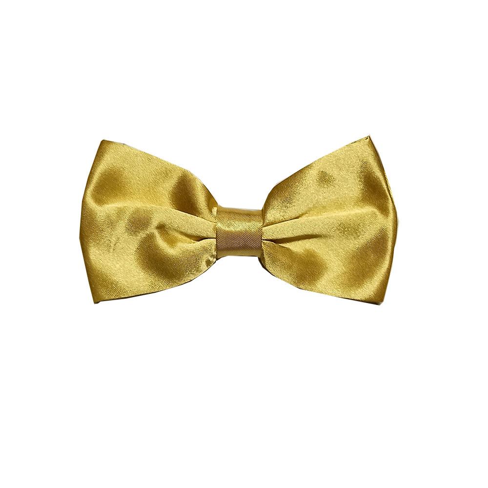 Gravata Borboleta Dourada