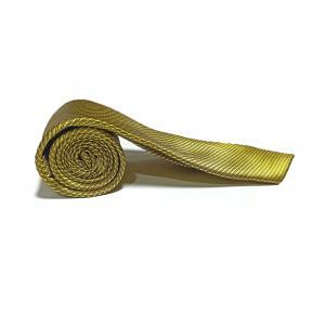 Gravata semi slim Dourado