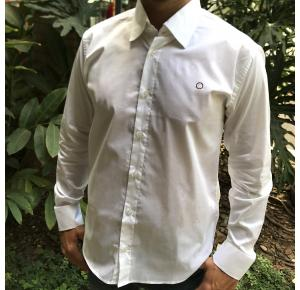 Camisa manga longa Classic men's club branca