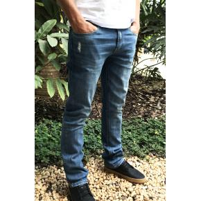 Calça jeans Lacoste straight fit